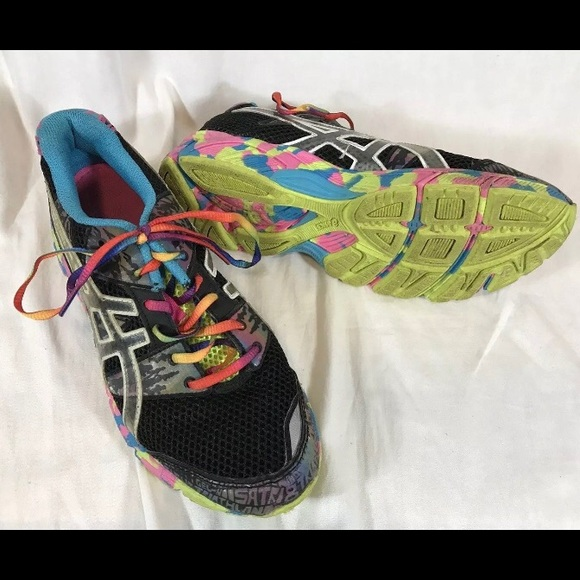 740911dde780 Asics Shoes - Asics Gel Noosa Tri 8 Sneakers Neon Athletic Shoes
